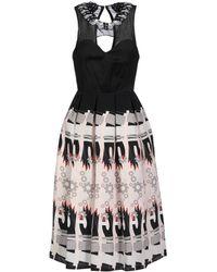 Holly Fulton Knee-length Dress - Black