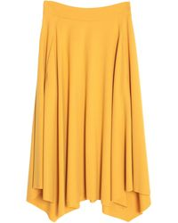 Nine:inthe:morning 3/4 Length Skirt - Yellow