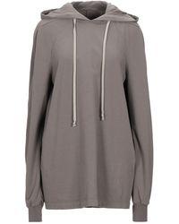 Rick Owens Drkshdw Sweatshirt - Grey