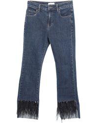 ViCOLO Capri jeans - Blu