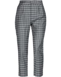 Cappellini By Peserico Casual Pants - Gray