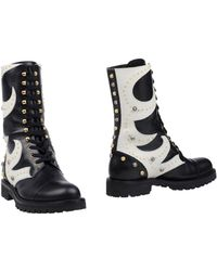 Fausto Puglisi Ankle Boots - Black