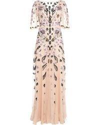 Temperley London Long Dress - Pink