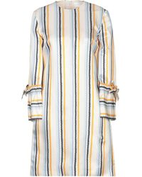 Victoria, Victoria Beckham Short Dress - White