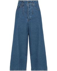 Gestuz Denim Trousers - Blue