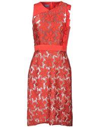 Emanuel Ungaro Knee-length Dress - Red