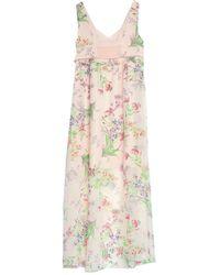 Naf Naf Long Dress - Pink