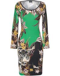 Just Cavalli Short Dress - Green