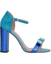 Tipe E Tacchi Sandale - Blau