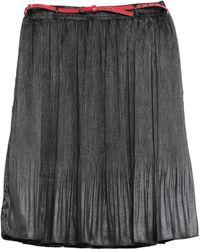 GAUDI Knee Length Skirt - Gray