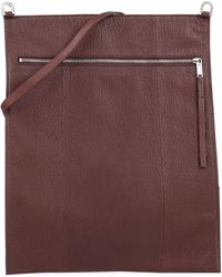 Rick Owens Cross-body Bag - Brown