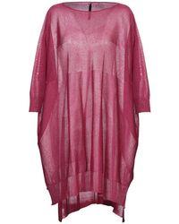 Manila Grace Short Dress - Multicolor