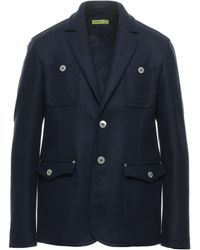 Versace Jeans Couture Cappotto - Blu
