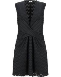 Issa Short Dress - Black