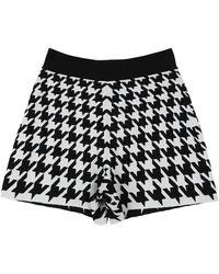 Alexander McQueen Shorts & Bermuda Shorts - White