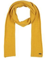 Grey Daniele Alessandrini Scarf - Yellow