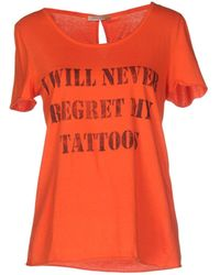 Erika Cavallini Semi Couture - T-shirt - Lyst