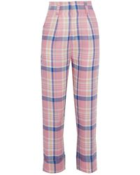 Paper London Pantalones - Rosa