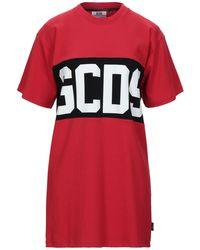Gcds Short Dress - Red