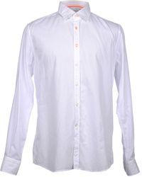 Del Siena Long Sleeve Shirt - White