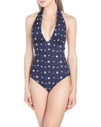 ..,merci One-piece Swimsuit - Blue
