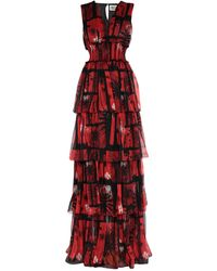 Fausto Puglisi Long Dress - Red