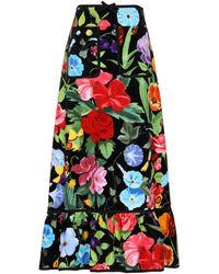 Gucci Long Skirt - Black