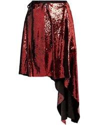 Marques'Almeida Midi Skirt - Red