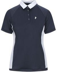 Peak Performance Polo Shirt - Blue