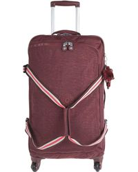 Kipling Wheeled luggage - Purple