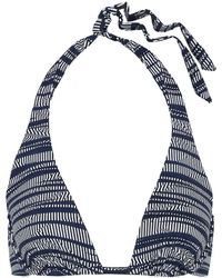 Heidi Klum Bikini Top - Blue