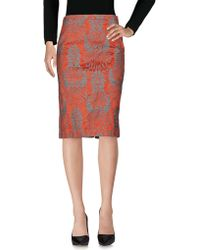 Maliparmi - Knee Length Skirts - Lyst
