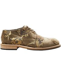 Peter Non Lace-up Shoes - Natural