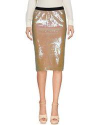 Jucca - Knee Length Skirt - Lyst