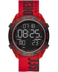 DIESEL Reloj de pulsera - Rojo