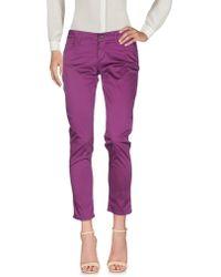 Liu Jo Casual Pants - Purple