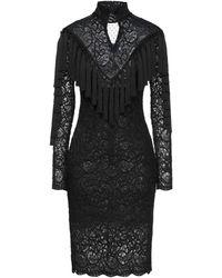 W Les Femmes By Babylon Midi Dress - Black
