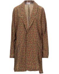 American Vintage Overcoat - Brown
