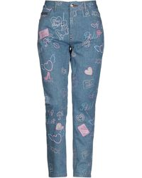 Philipp Plein Pantaloni jeans - Blu