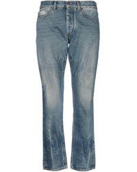 Ring Denim Trousers - Blue