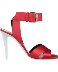 Lanvin Sandals - Red