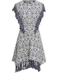 Chloé Short Dress - Blue