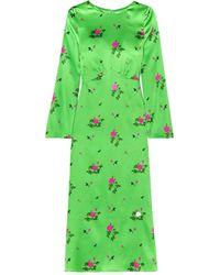 BERNADETTE 3/4 Length Dress - Green