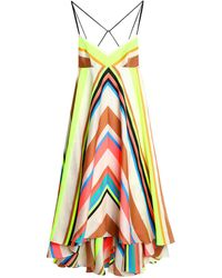 MILLY 3/4 Length Dress - White