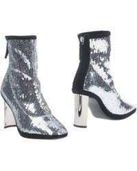 Giuseppe Zanotti Ankle Boots - Metallic