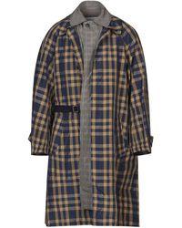 Kolor Overcoat - Blue