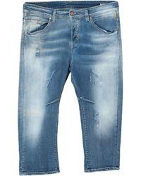 Meltin' Pot Capri jeans - Blu