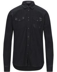Replay Denim Shirt - Black