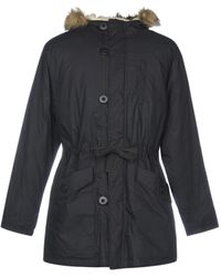 TOPMAN Synthetic Down Jacket - Black