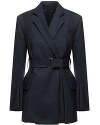 Eudon Choi Suit Jacket - Blue